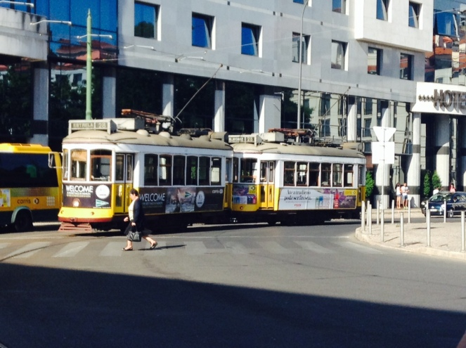 Tram-Lisbonne