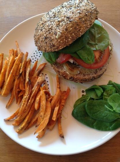 hamburger-végétarien